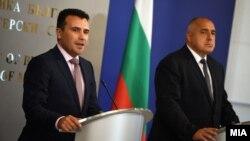 Премиерите на Бугарија и на Македонија, Бојко Борисов и Зоран Заев