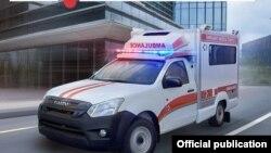 Uzbekistan - New ambulances manufactured at Samarkand automobile factory