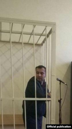 Айбланувчи Обид Абдураимов суд залида