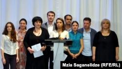 """Две недели назад кандидатуру Тамары Жвания выдвинули 11 ведущих грузинских НПО. Сегодня после официального представления президентом ее поддержали представители как """"Нацдвижения"""", так и """"Грузинской мечты"""""""
