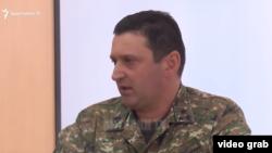 Министр обороны Нагорного Карабаха, командующий Армией обороны Карабаха Джалал Арутюнян (архив)