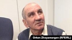 Александр Авдейко, шағын кәсіпкер, мүмкіндігі шектеулі азамат. Астана, 18 наурыз 2013 жыл