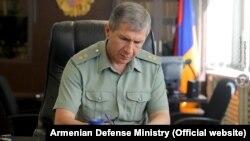 ARMENIA -- Armenian Chief of General Staff Onik Gasparian