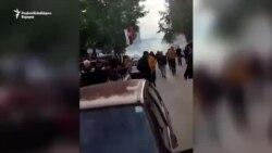 Protest građana u Severnoj Mitrovici zbog policijske akcije
