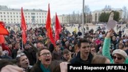 Шествие в Сыктывкаре, 7 апреля