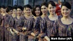 خدمه شرکت هواپیمایی سنگاپور
