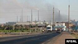 Трубы предприятия «Балхашцветмет», входящего в «Казахмыс».