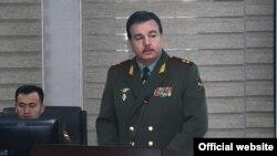 Шерали Мирзо, министр обороны РТ