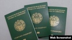 Биометрические паспорта граждан Узбекистана.