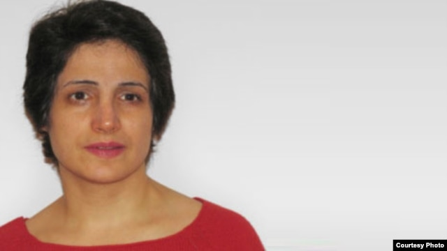 Jailed lawyer Nasrin Sotoudeh