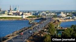 Вид на город Казань. Иллюстративное фото.