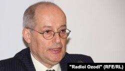 БҰҰ-ның Беларусьтегі адам құқықтары жөніндегі арнайы баяндамашысы Миклош Харасти.