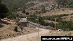 Gorus-Qafan yolunun bir hissəsi
