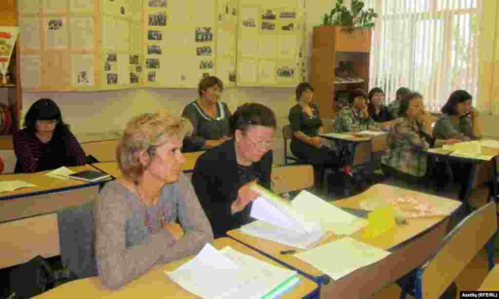 Рус теле һәм әдәбияте семинарында катнашучылар