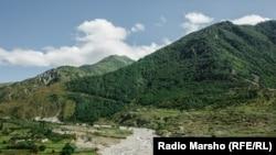 Горы Кабардино-Балкарии