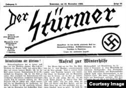 Versiunea tipărită în Banat a publicației Der Stürmer