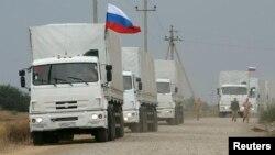 Ուկրաինայի արևելք ռուսական մարդասիրական օգնություն տեղափոխող ավտոշարասյուն, արխիվ