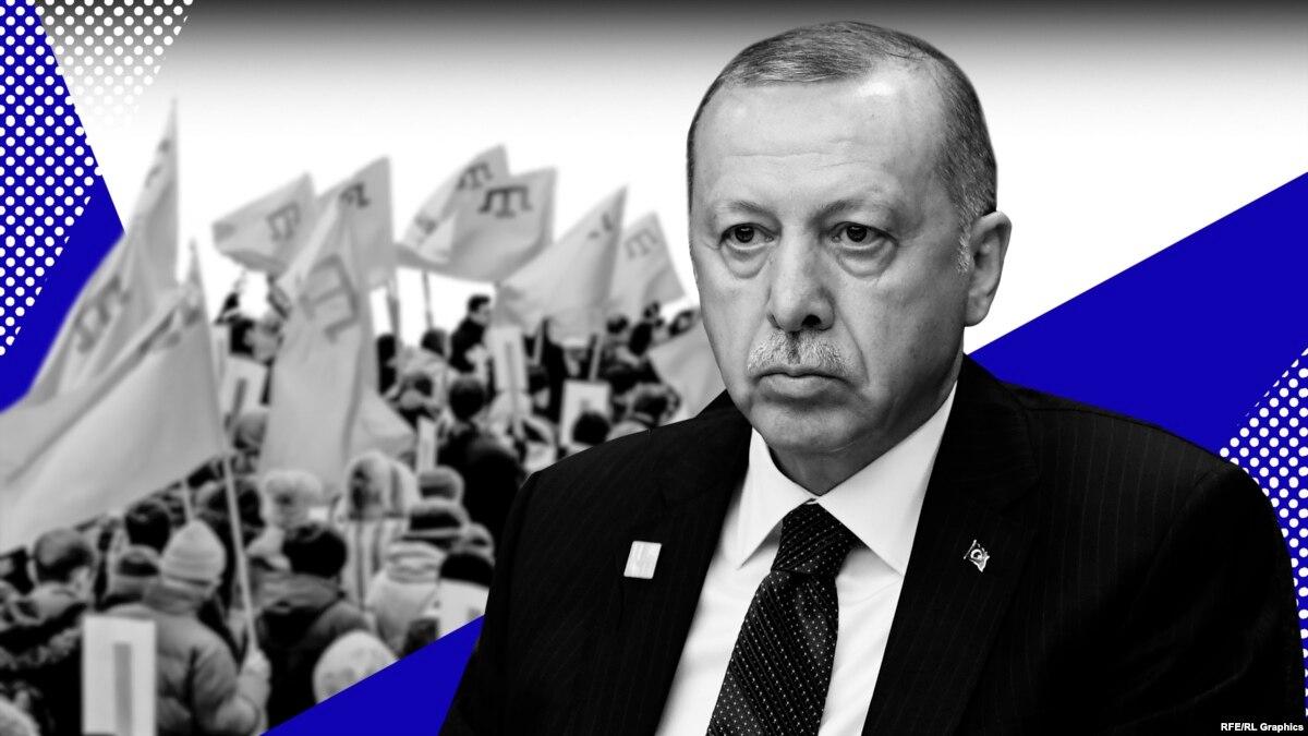 Эрдоган vs Путин: Анкара не забудет о крымских татарах