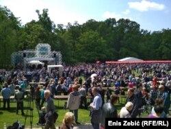 Tisuće na grahu i sindikalnom skupu u Zagrebu