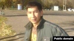 «Алға» партиясының бұрынғы белсендісі Асқар Шайғұмаров. Сурет белсендінің Facebook парақшасынан алынды.