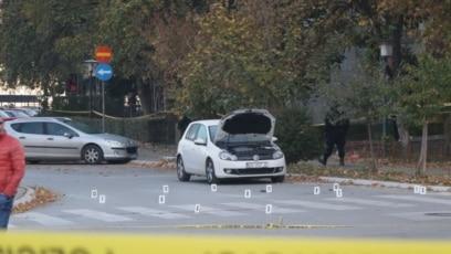 Automobil koji su polušali ukrasti kriminalci koji su ubili dvojicu policajaca