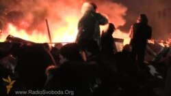 Киевта Бәйсезлек мәйданын ут саклады