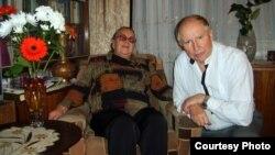 Анатоль Вярцінскі з жонкай Адай Сымонаўнай. 2011 г.
