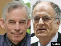 Лауреати Нобелівської Премії 2011 в галузі економіки – Томас Саржент і Крістофер Сімс