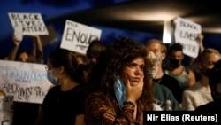 Sa protesta solidarnosti u Tel Avivu, 2 juni 2020.