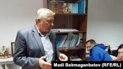Виктор Гречкин, заместитель директора компании, строящей жилой комплекс«Оберег». Астана, 27 июля 216 года.