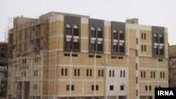 یکی از بیمارستانهای ساخت ایران در کربلا. عکس از خبرگزاری ایرنا.