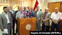 مؤتمر صحفي للهيئة التنسيقية للاحزاب والكتل السياسية في بابل