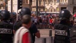 Перед матчем Англія – Росія на «Євро-2016» вболівальники влаштували бійку з поліцією (відео)