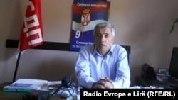 Oliver Ivanović, predsednik građanske inicijative Srbija, demokratija, pravda predao je liste za lokalmne izbore CIK-u, septembar 2013.