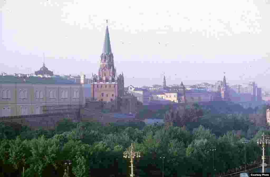 One of the Kremlin's towers