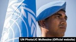 Ілюстративне фото. Репетиція церемонії до Міжнародного дня миротворців Організації Об'єднаних Націй
