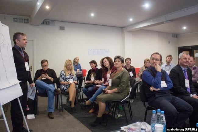 Падчас другой (не)канфэрэнцыі настаўнікаў EdCamp Belarus 2018