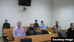 Денис Механов в зале суда. Фото О.Труфановой