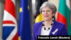 Kryeministrja e Britanisë së Madhe, Theresa May.