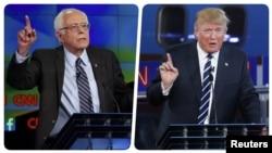 Nyu Hempşirin qalibləri Bernie Sanders və Donald Trump