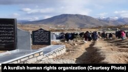 Iran-Graves belonging to pepople who died in recent protest