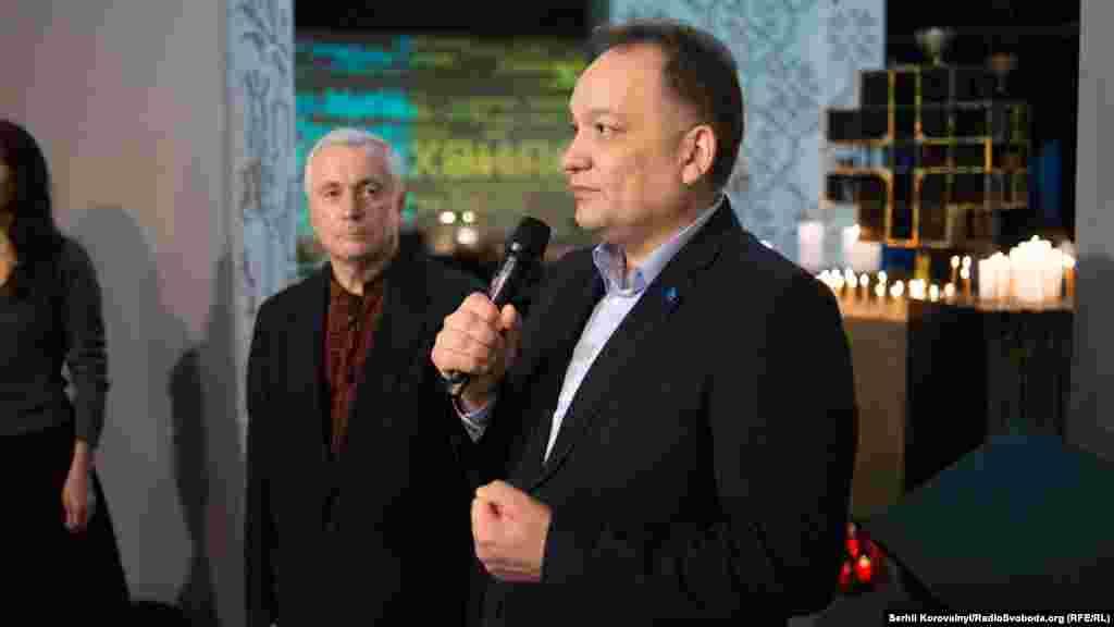 Виступ члена Меджлісу кримськотатарського народу, правозахисника Ескендера Барієва