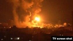 Газа секторындағы атыс. 17 шілде 2014 жыл.