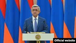 Президент Армении Серж Саргсян.