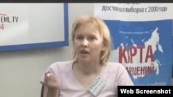 Елизавета Климович дала пресс-конференцию, где рассказала о своем избиении