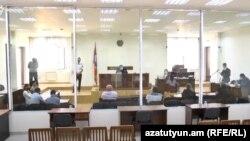 «Սասնա ծռեր»-ի գործով դատական նիստերից մեկ, արխիվ