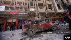 موقع إنفجار في بغداد