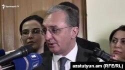 Глава МИД Армении Зограб Мнацаканян