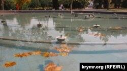 Фонтан у Севастополі, архівне фото