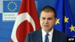 Архива: турскиот министер за европски прашања Омер Челик.